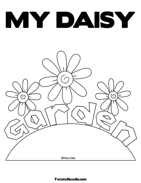 Daisy Scout Flower Coloring Pages Best Coloring Pages Scout Coloring Pages For Daisies Printable