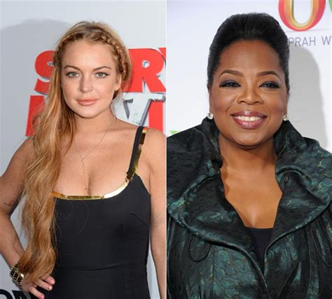 Lindsay Confirmed To Be In Rehab by Oprah Winfrey To Lindsay Lohan Post Rehab Photo 3
