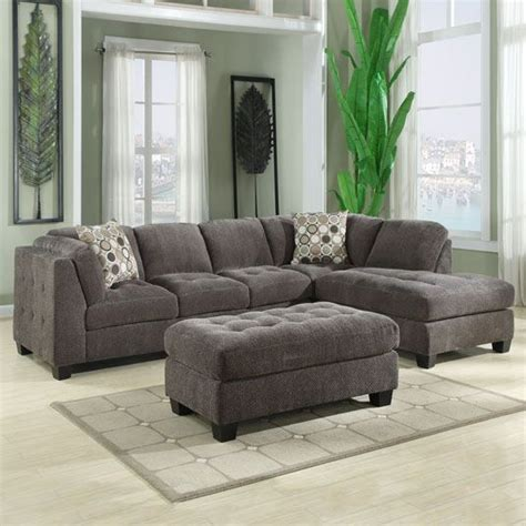 jeromes sectional trinton 2pc sectional 1 lhf sofa 1 rhf chaise by jerome