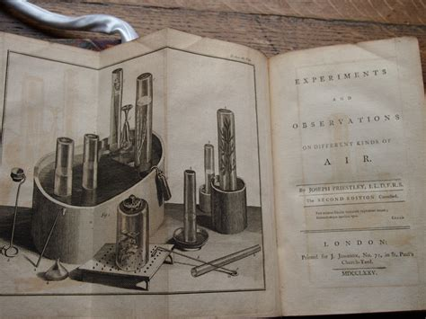 experiments and observations on different kinds of air vol 2 classic reprint books pin by royal society of chemistry on joseph priestley