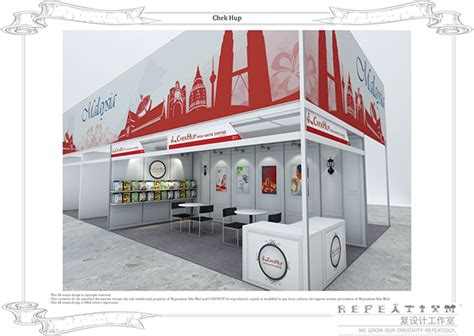 booth design thailand chekhup ipoh white coffee exhibition booths on behance