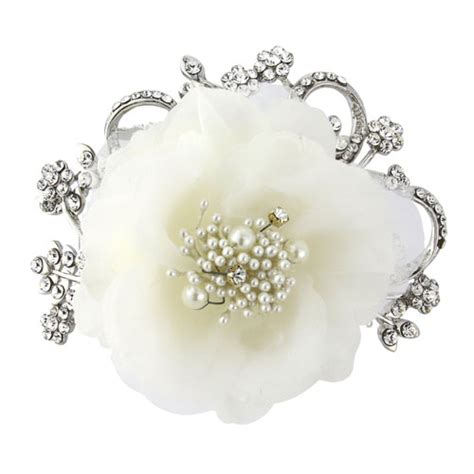 Wedding Hair Clip Vintage by Vintage Flower Wedding Hair Clip Zaphira Bridal