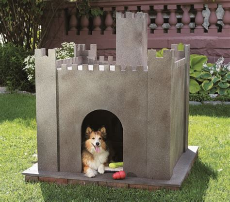 castle dog house build your own custom dog house castle quarto homes