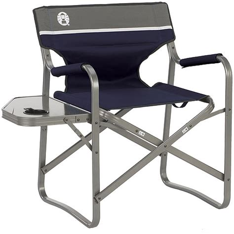Coleman Portable Deck Chair Coleman Aluminum Deck Chair Walmart Com