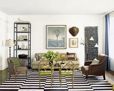 Olin Rug Today S Waffle Black And White Striped Rugs The Waffler