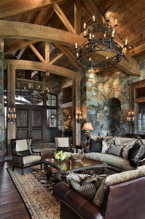 mountain homes interiors best 25 rustic living rooms ideas on rustic