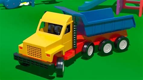 truck kid big trucks vehicles for learn numbers