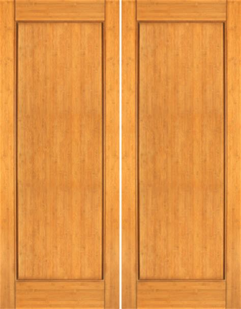 Bamboo Interior Doors Bm 30 Interior Bamboo Contemporary 1 Panel Modern Door Contemporary Interior Doors