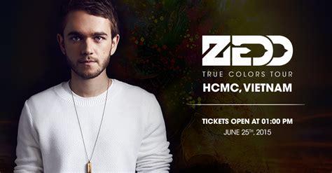 zedd true colors tour ticketbox vn