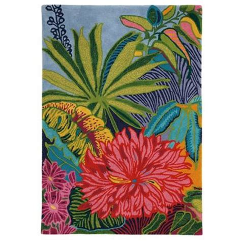 tropical themed rugs tropical floral rug tropical rugs by theme rugs poshliving