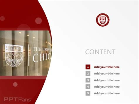university of chicago powerpoint template university of