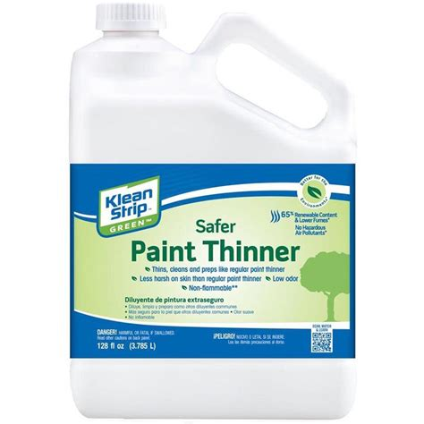 home depot paint thinner upc 030192750117 thinners klean painting supplies