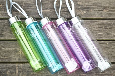 Tas Organizer Penyimpan Selimut Pakaian 1 botol minum plastik tabung transparan clear 280 ml sm