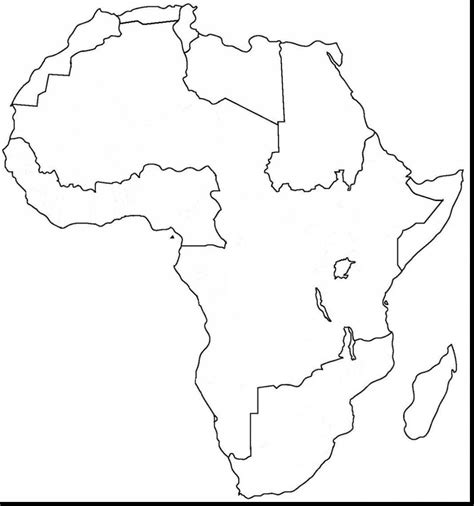 printable coloring page map of africa africa coloring pages coloringsuite com