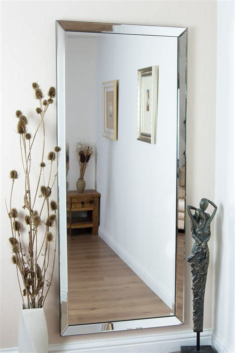 mirror large frameless bathroom mirror admirable hang 15 inspirations frameless large mirror mirror ideas