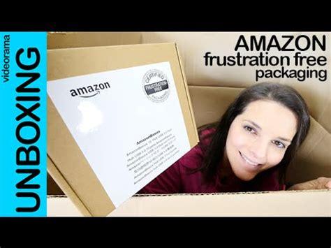 amazon frustration free packaging unboxing en español