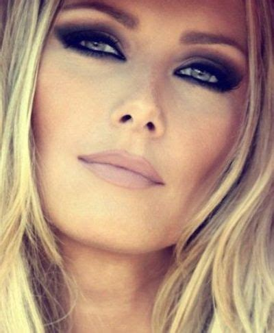 1000+ images about makeup looks smokey eye nude lip on