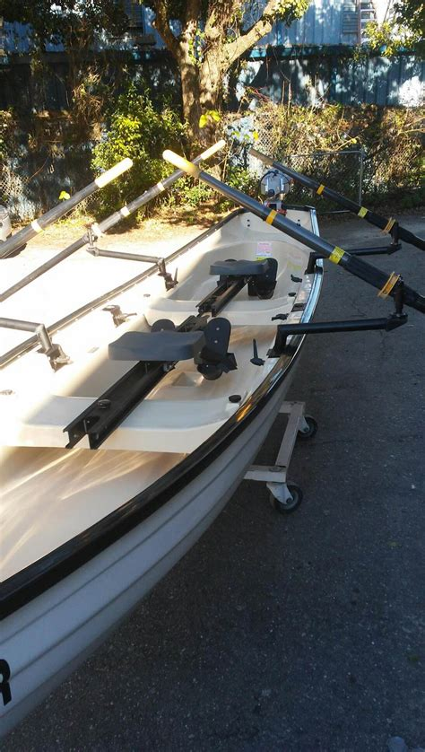 row boat used used row boats for sale little river marine rowing