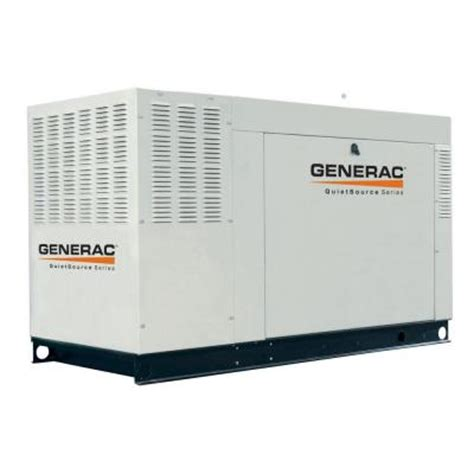 generac 45 000 watt liquid cooled standby generator steel
