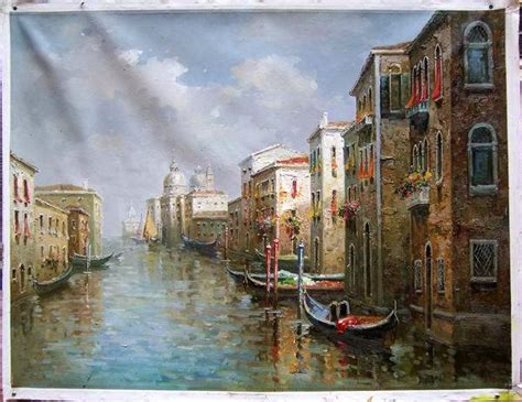 building painting china painting venice building impressionism 2 china painting paintings