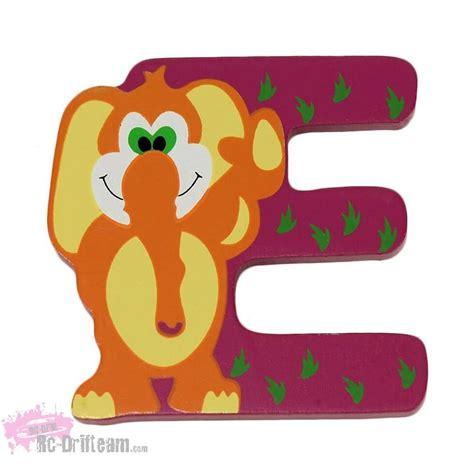 imagenes de animales por la letra e letra e de madera con animales nombre personalizado ni 241 o