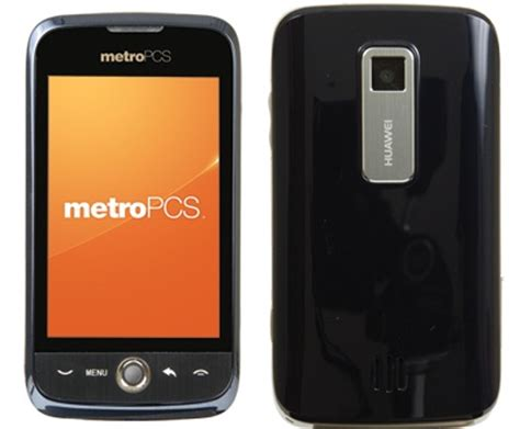 metro pcs huawei ascend entry level android smartphone