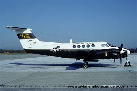 u s military aircraft in 836528104x the aviation photo company c 12 t 44 beech us army 6 avn co beech c 12c huron 77 22932 1982