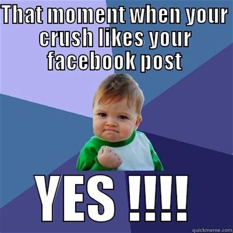Facebook Like Meme - when your crush likes your picture www pixshark com