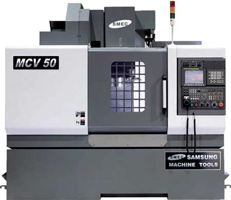 samsung machine tools to give away new mcv50 vmc at imts 2010