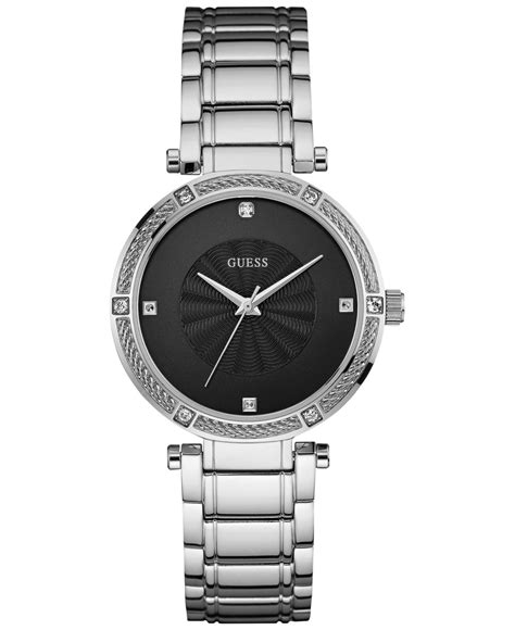 Guess Cross Stainless guess s accent stainless steel bracelet 36mm palm springs golf courseguide