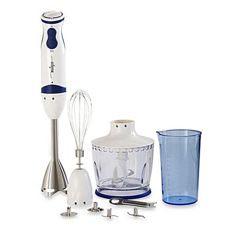 immersion blender bed bath beyond miallegro 174 mitutto 174 5 speed immersion hand blender bed