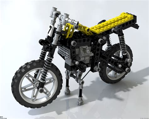Lego Technik Motorrad by Lego Technic Motorcycles 8838 Shock Cycle