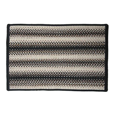 indoor outdoor braided area rugs 20x30 striped ebay