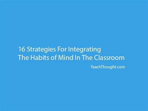Habits Mighty Minds The 25 Best Habits Of Mind Ideas On 21st Century Skills 21st Century And Clip