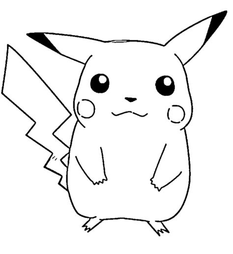 pokemon coloring pages pikachu free printable pikachu coloring pages for kids