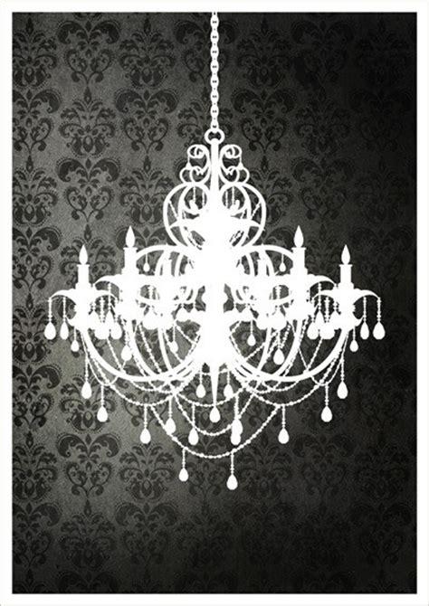 Black And White Chandelier Wallpaper Black Chandelier Wallpaper Wallpapersafari