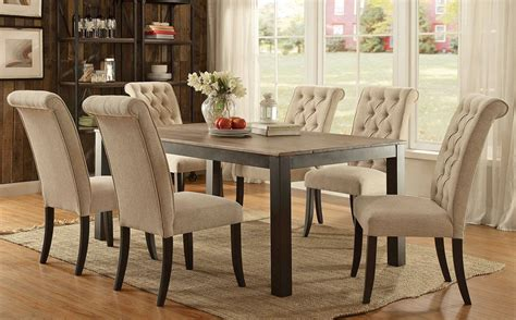 transitional dining room sets jayar transitional dining table set