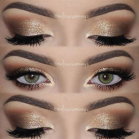Eyeshadow Inez No 10 the 25 best gold eye makeup ideas on smoky