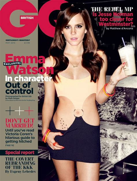 emma watson gq emma watson s gq cover is sexy departure for star today com