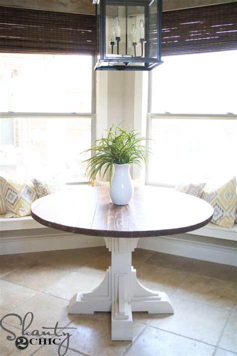 DIY Round Table   Shanty 2 Chic