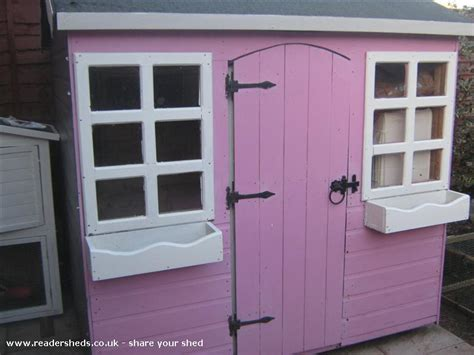 Pretty Garden Sheds Uk by Pretty Pink Palace Cabin Summerhouse From Garden Owned By