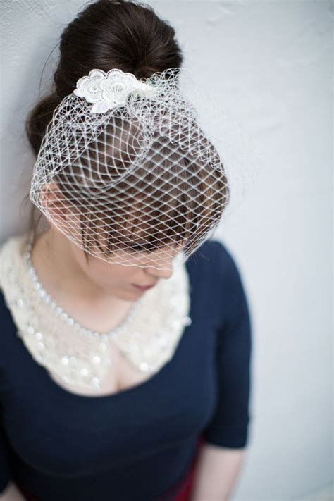 Handmade Birdcage Veil - 5 fabulous diy wedding veil ideas