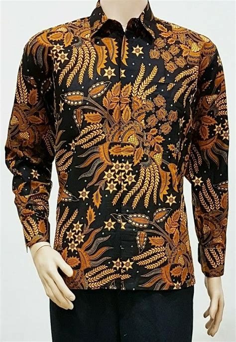 Baju Billabong Original 52 gudang fashion baju batik kerja pria lengan pendek abu