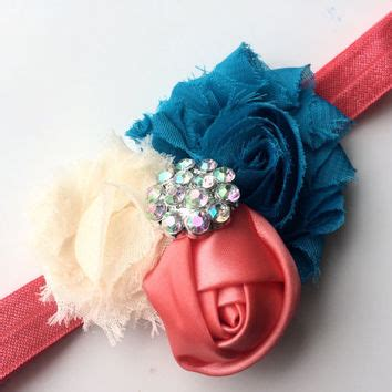 best turquoise flower headband products on wanelo best turquoise flower headband products on wanelo