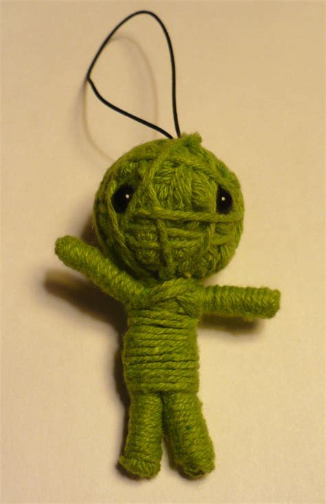 Nola Voodoo Handmade String Dolls - cheap dollar craft small voodoo doll like the found