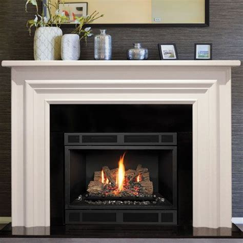 Gas Fireplace Mantel Surrounds by 25 Best Black Fireplace Mantels Ideas On