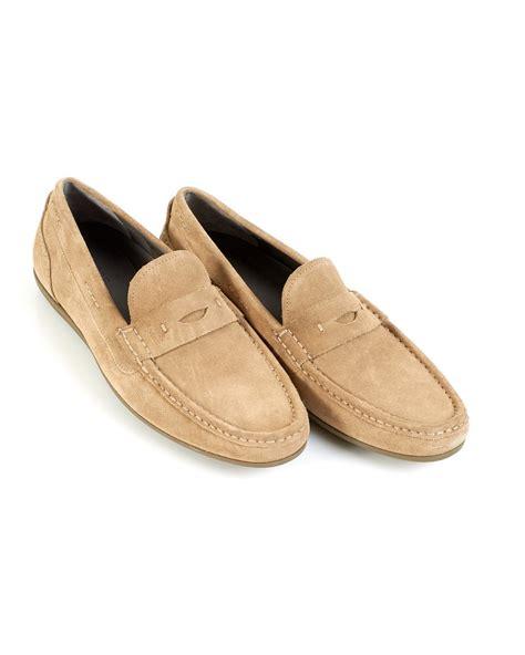 hugo suede loafers hugo black driving shoes suede florios beige
