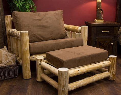 17 best ideas about log furniture on pinterest log cedar lake cabin log chair and a half log chairs rustic