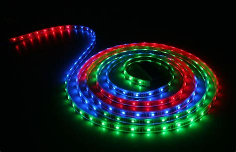 Waterproof Color Chasing Led Light Strips With Multi Color Rgb Led Lighting Strips