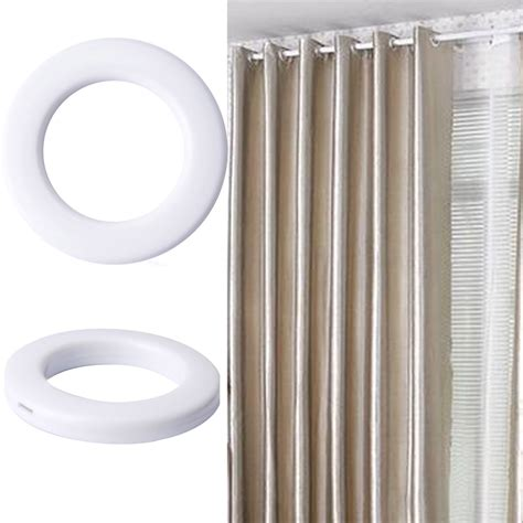 plastic eyelets for curtains 20x plastic snap drapery curtain eyelets heading rings